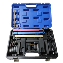 Engine Timing Tools For BMW N51 N52 N53 N54 N55 Camshaft Vanos Flywheel Timing Tool Set Car Garage Too With Cylinder Head Sleeve engine camshaft timing locking tool kit for bmw n51 n52 n53 n54 n55