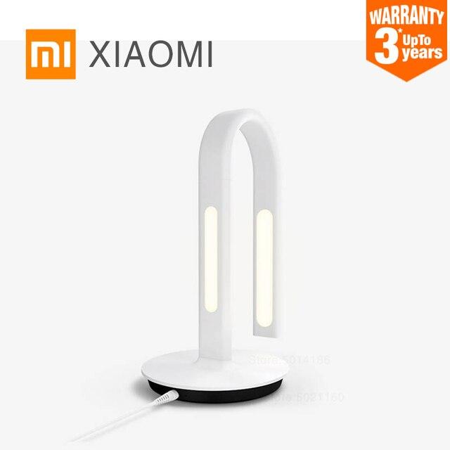 XIAOMI MIJIA Philips masa lambası 2 LED akıllı masa lambası 2S bükme öğrenci lambası ofis okuma masası ışık yatak odası gece lambası APP