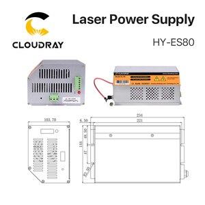 Image 2 - Cloudray 80 100W 80W HY Es80 CO2 Laser Netzteil für CO2 Laser Gravur Schneiden Maschine Es Serie