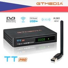 Gtmedia Tt Pro DVB-T2/T Terrestrial Tv Ontvanger Hd Digitale Tv Tuner Receptor MPEG4 Dvb T2 H.265 DVB-C Tv doos