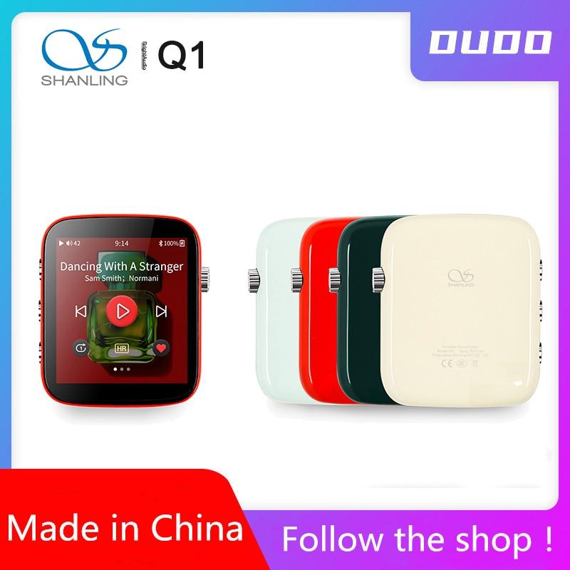 Shanling Q1 nouveau 2020 lecteur Portable ES9218PDAC/ampli bidirectionnel Bluetooth HiFi Audio lecteur de musique MP3 support DSD128 Aptx