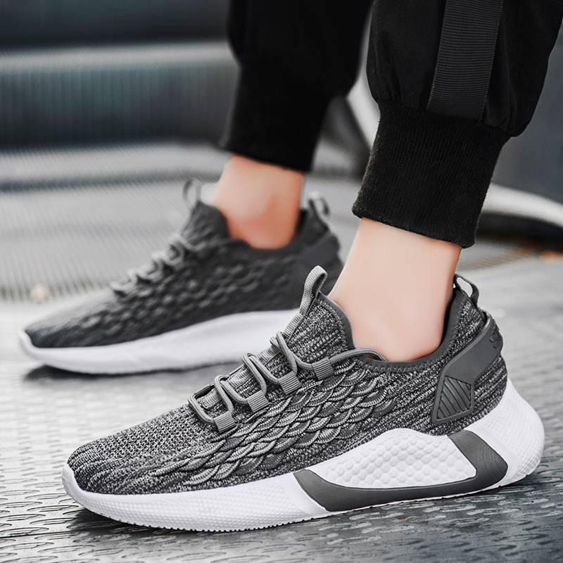 2020 New Trend Running Shoes Child Athletic Breathable Footwear Walking Jogging Shoes Light Weight Child Sports Shoes
