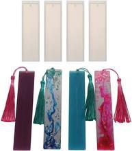 Diy Закладка эпоксидная смола форма закладки силиконовые формы
