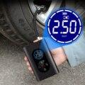 Автомобильный Электрический воздушный насос, портативный беспроводной насос для накачивания шин, воздушный компрессор, насос для автомоби...