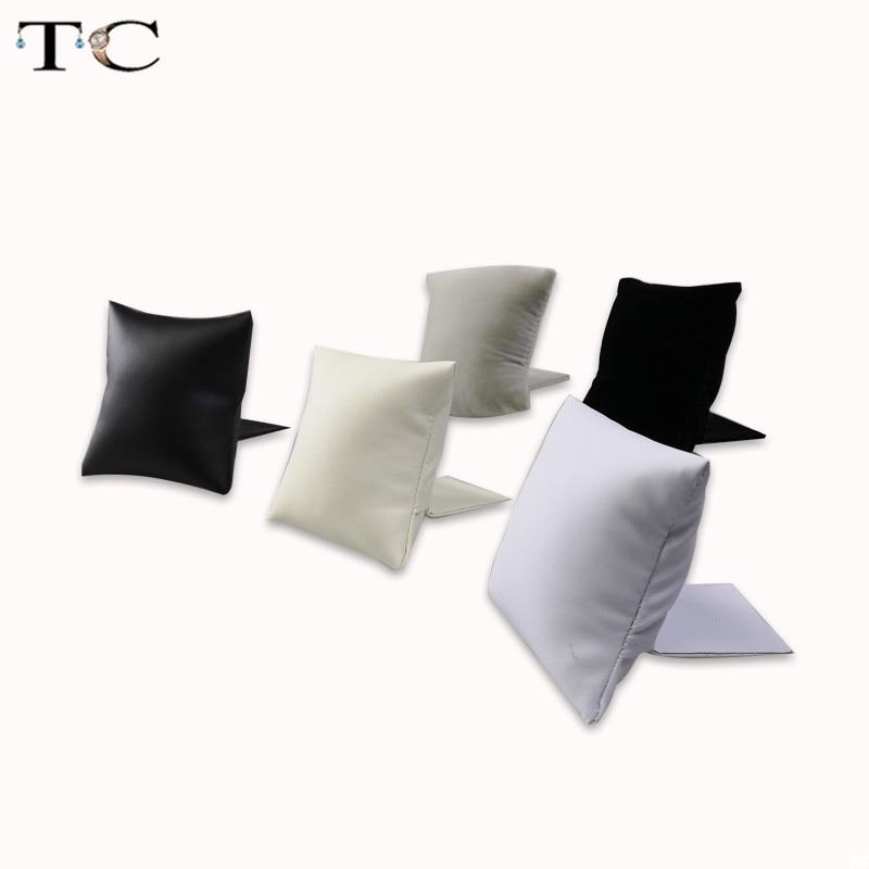 New Creative Jewelry Bracelet Bangle Pillow Display Holder Watch Holder Display Pillows Bracelet Pillow Cushion Stand