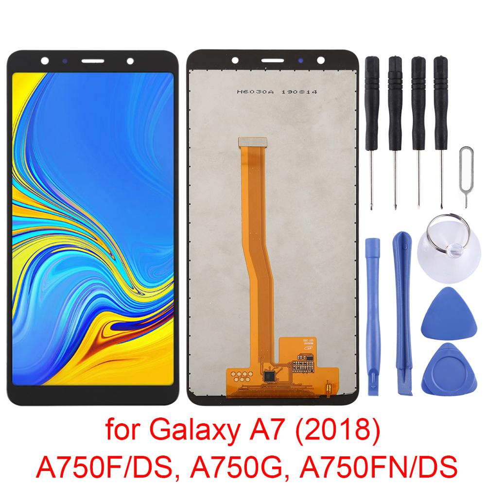 6 ″ For <font><b>Samsung</b></font> Galaxy <font><b>A7</b></font> Display LCD <font><b>Screen</b></font>+Digitizer Full Assembly module For Galaxy <font><b>A7</b></font>(<font><b>2018</b></font>)A750F/DS,A750G,A750FN/DS image