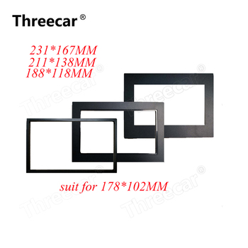 car frame for Universal 2 Din auto radio / android player Frame Retrofitting decorative framework 178 x 102mm panel image