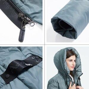 Image 5 - Astrid 2019 inverno nova chegada para baixo jaqueta feminina roupas soltas outerwear qualidade com um capuz moda estilo casaco de inverno AR 7038