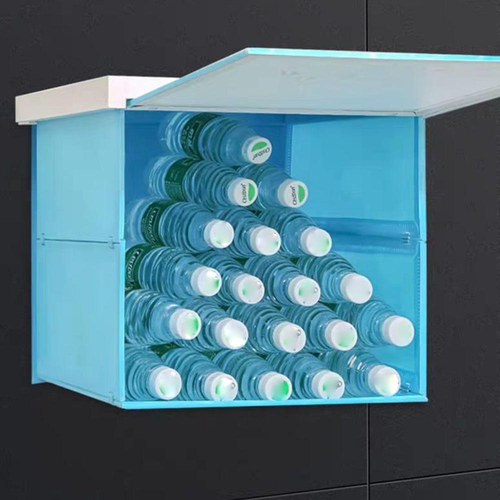 Organiser Bathroom Cupboard Floor Cabinet Folding Bathroom Storage Cabinet Laundry Storage Home Room Decoration Furniture Pakistan