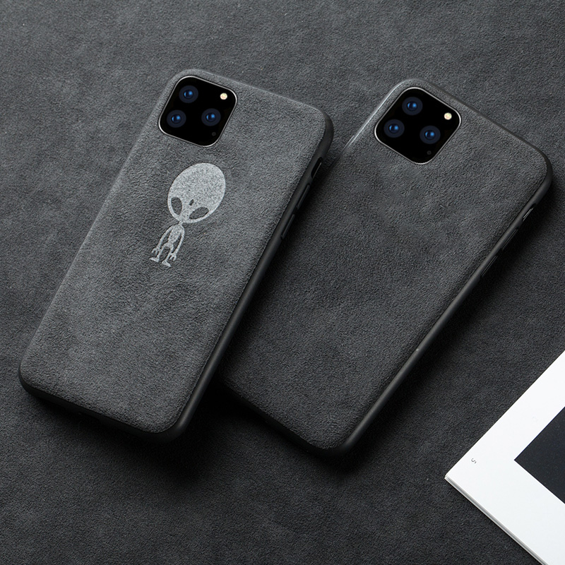Luxury Suede Leather Mobil Phone Case For Apple iPhone 11 12 Mini Pro Max Cover 6 6S 7 8 Plus X Xr Xs MAX Phone case cases