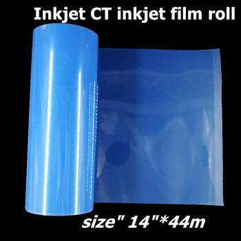 Rolka do drukarek atramentowych 14 #8222 * 44m do drukarek atramentowych tanie i dobre opinie colormaker CN (pochodzenie) waterproof Papier fotograficzny one side printable inkjet printer Blue Semi-Transparent Matte