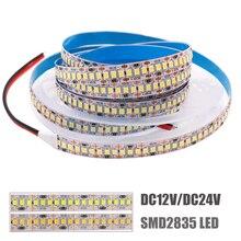 Супер яркий 2835 Светодиодные ленты светильник 5 м IP65 IP67 Водонепроницаемый светодиодная лента веревка светильник Высокое качество гибкий све...