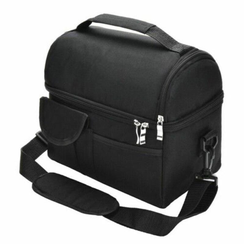 Isolierte Mittagessen Tasche Coolbag Picknick Erwachsene Kinder Lebensmittel Lagerung Lunchbox Verwenden Liefern-in Lunchboxen aus Heim und Garten bei title=