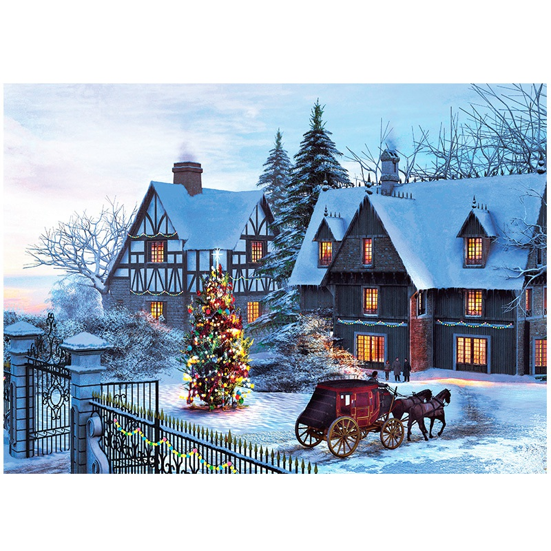 1000 Pieces Jigsaw Puzzles Educational Toys Scenery Space Stars Educational Puzzle Toy For Kids Christmas Gift