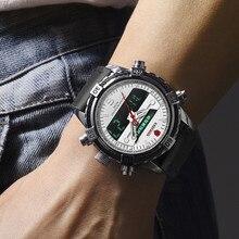 Luxury Men Sport Watch TOP Brand KADEMAN LED Digital Watch Military Army Wristwatches Man Automatic Date Clock Relogio Masculino цена и фото