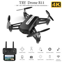 2020 New R11  Mini Drone With Wide Angle Hd 1080p Camera Hight Hold Mode Rc Foldable Quadcopter Dron Gift syma official x8g dron with camera hd wide angle 2 4g 4ch 6 axis with 8mp 360 degree rotating rc drone rc gift quadrocopter