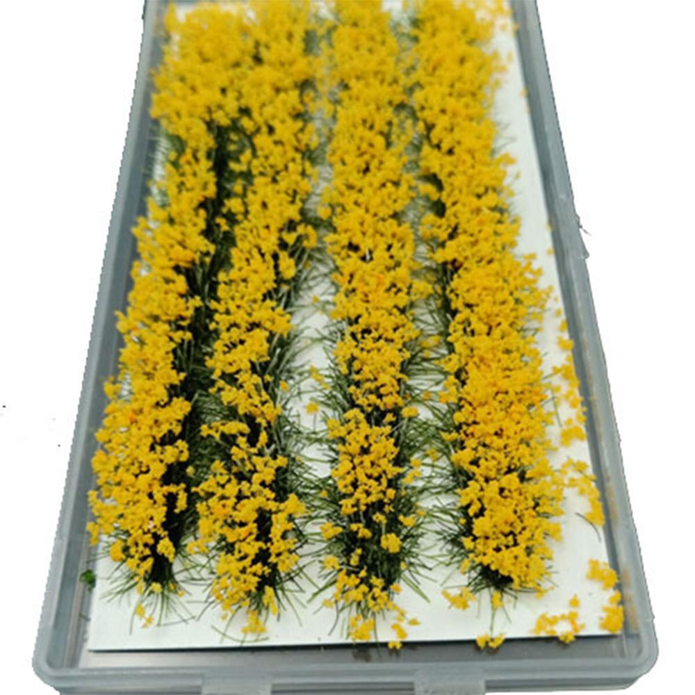 New Diy Mini Simulation Flower Cluster Flowers Scene Model For 1:35/1:48/1:72/1:87 Scale Sand Table Model Accessories