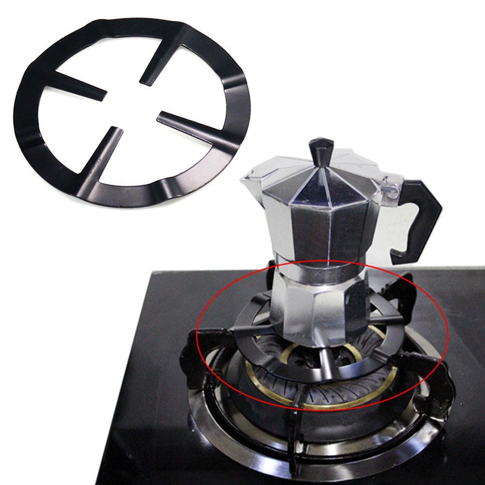 Universe Heavy-Duty Steel Reducer Rack For Moka Bialett Coffee Maker Gas Stove Support Shelf Moka Bialett Coffee Pot Simmer Ring