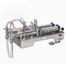 Pneumatic Liquid Filling Machine Automatic Quantitative Cosmetic Canning Toothpaste Edible Ointment