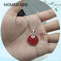 HGMEIKAINI925 % sterling silver necklace with Europe and the United States original authentic fashion circle brand red lovers gi
