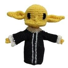 Jouet en peluche bébé Yoda Star Wars, inspiré du mandalorien Grogu, jouet Mini Amigurumi fait à la main, cadeaux pour enfants