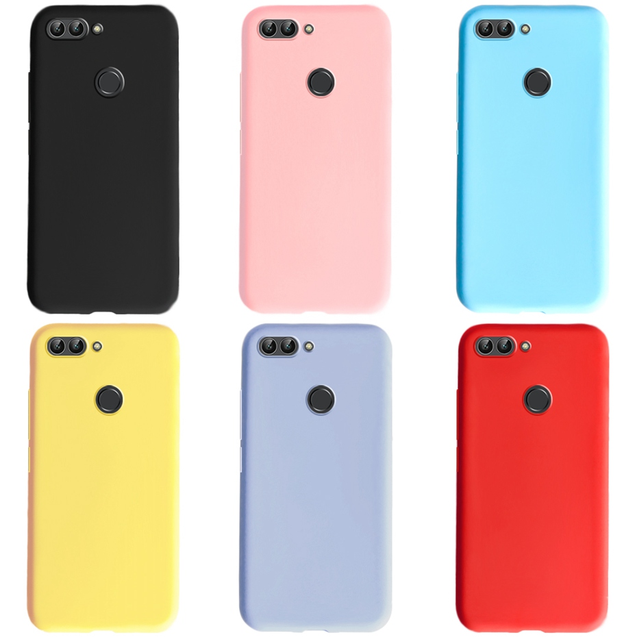 For Huawei P Smart 2018 Cases Silicone Soft TPU Back Cover For Funda Huawei P smart Case Cover Coque FIG-LX1 Psmart Phone Case