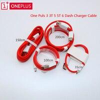 Original OnePlus 6 Dash Kabel 5t 5 3t 3 35/ 100/200cm USB 3,1 Typ C schnell Ladegerät Kabel Für Eine Plus Drei Fünf T Sechs