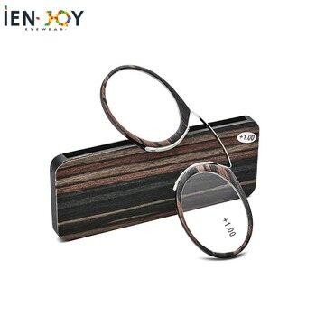 IENJOY TR90 Glasses Nose Clip Reading Glasses Men очки для чтения Magnifying Glasses Female Presbyopic Glasses Eyewear Reader корригирующие очки для чтения 2 0 с градиентом
