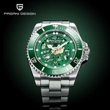 2020 New PAGANI DESIGN Men's Watches Skeleton Mechanic For Men Business