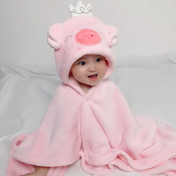 Cute Shaped New Born Baby Towel Baby Hooded Bathrobe Soft Infant Blanket Bath Towel Baby Toalla baby Towels