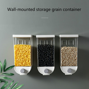 Food storage box kitchen wall-mounted storage tank plastic container storage food storage airtight container