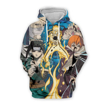 Tessffel Cartoon Anime Naruto Harajuku casual Tracksuit 3D Pullovers Print Hoodie/Sweatshirt/Jacket/shirts Mens Womens funny s-6