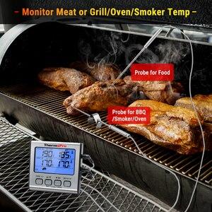 Image 3 - ThermoPro TP17 Dual Sonden Digital Outdoor Fleisch Thermometer Kochen BBQ Ofen Thermometer mit Großen Lcd bildschirm Für Küche
