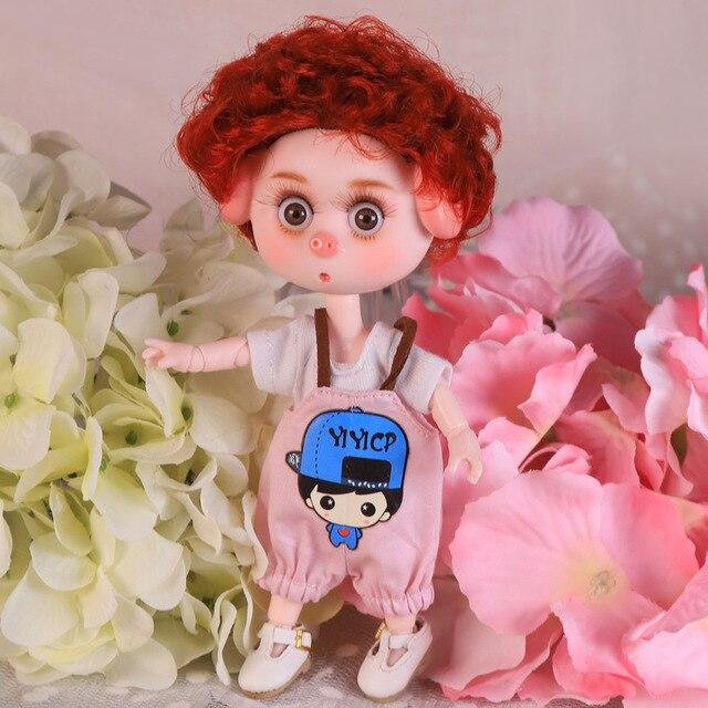 DBS Dream Fairy 1/12 BJD DODO doll 15cm doll toy ob11 mini doll with clothes shoes 13