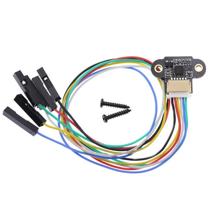 Range Sensor Module 10-180Cm Distance Sensor Tof10120 Distance Sensor Uart I2C Output 3-5V Rs232 Interface For Arduino Tof05140