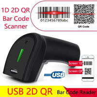 Symcode USB 2D Barcode Reader Computer Mobile Payment Screen USB 1D QR Bar code Scanner