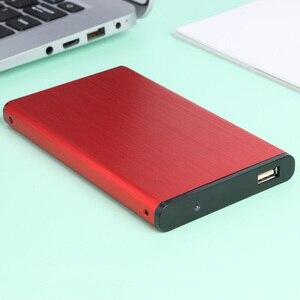 Чехол для мобильного жесткого диска HDD SSD Внешний корпус 480M 2,5 дюйма 10 ТБ SATA для бытового компьютера аксессуары