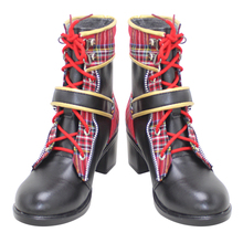 Cosplay Shoes Epel Felmier Carnival-Boots High-Heel Custom-Made Halloween Red