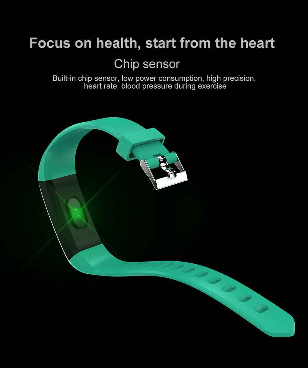 H19be6cc1bba041588a8093c091934a72z Smart Bracelet Watch for Men Women 115 Plus Smart Wristband Fitness Tracker Pressure Sport Watch Heart Rate Monitor Band A2