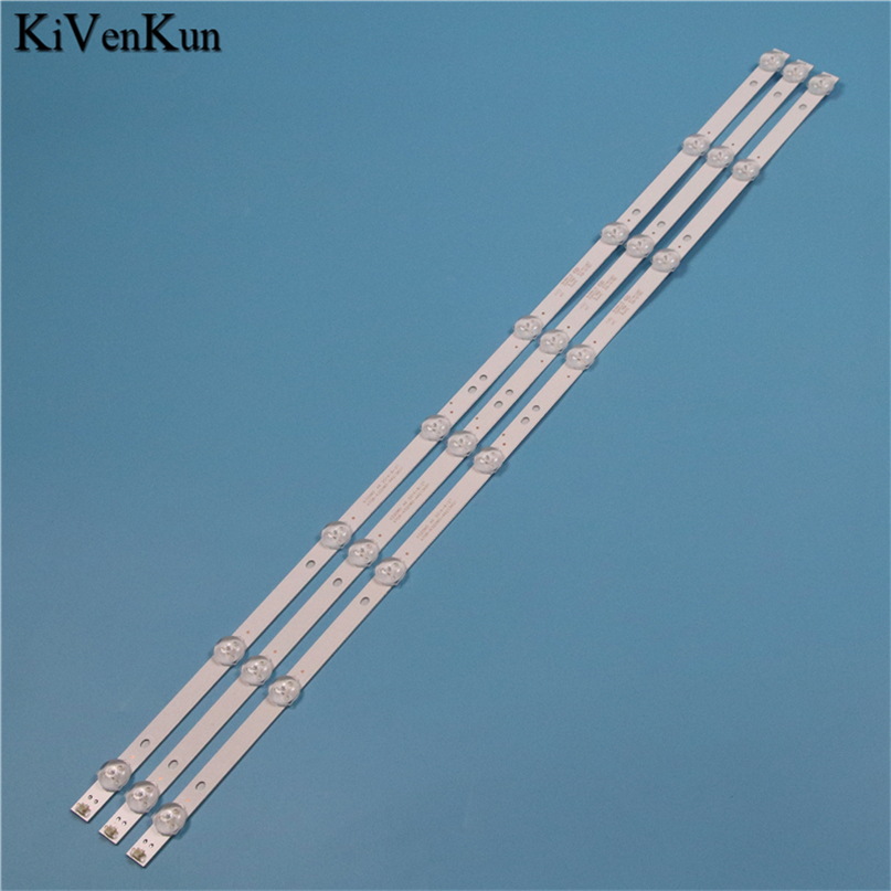 Brand New TV Lamps LED Backlight Strips For DEXP H32B7200T HD TV Bars Kit LED Bands 4708-K320WD-A4213K01 KB-6160 K320WD Rulers