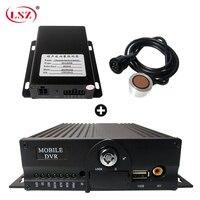 LSZ fabrik großhandel 4g gps mdvr remote überwachung host + Ultraschall öl detektor landwirtschaft lokomotive/gabelstapler/box lkw