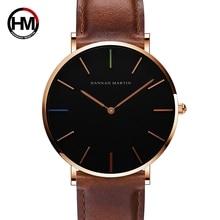 Simple Men Watch Leather Strap Men Quartz Wristwatch Japan Movement 2019 Luxury Brand Watch Men Waterproof Relogio Masculine цена 2017