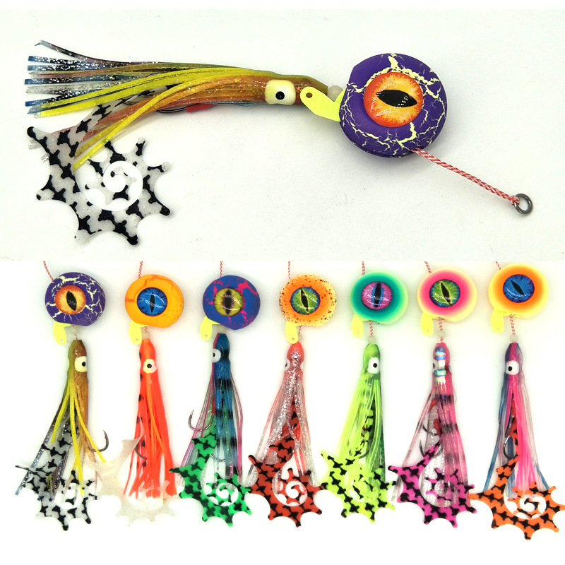 Japan Quality Lurekiller Rubber Jig Lure Tai Kabura Slider Jigs Lead Fish 60/80/100/120/150g saltwater sea baits