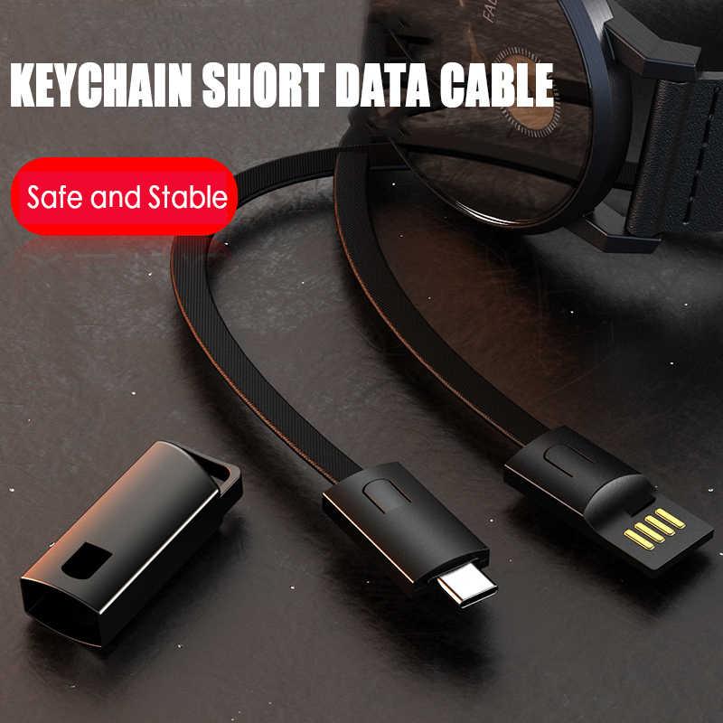 متعددة وظيفة نوع C المصغّر usb كابل شحن كابل usb لسامسونج huawei المفاتيح المحمولة مزامنة بيانات الحبل شاحن