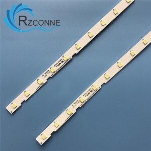 Image 2 - LED Backlight strip bar 38 lamp for AOT_49_NU7300_NU7100_2X38_3030C_d6t 2d1_19S2P UE49NU7140 UE49NU7100  BN61 15483A LM41 00557A