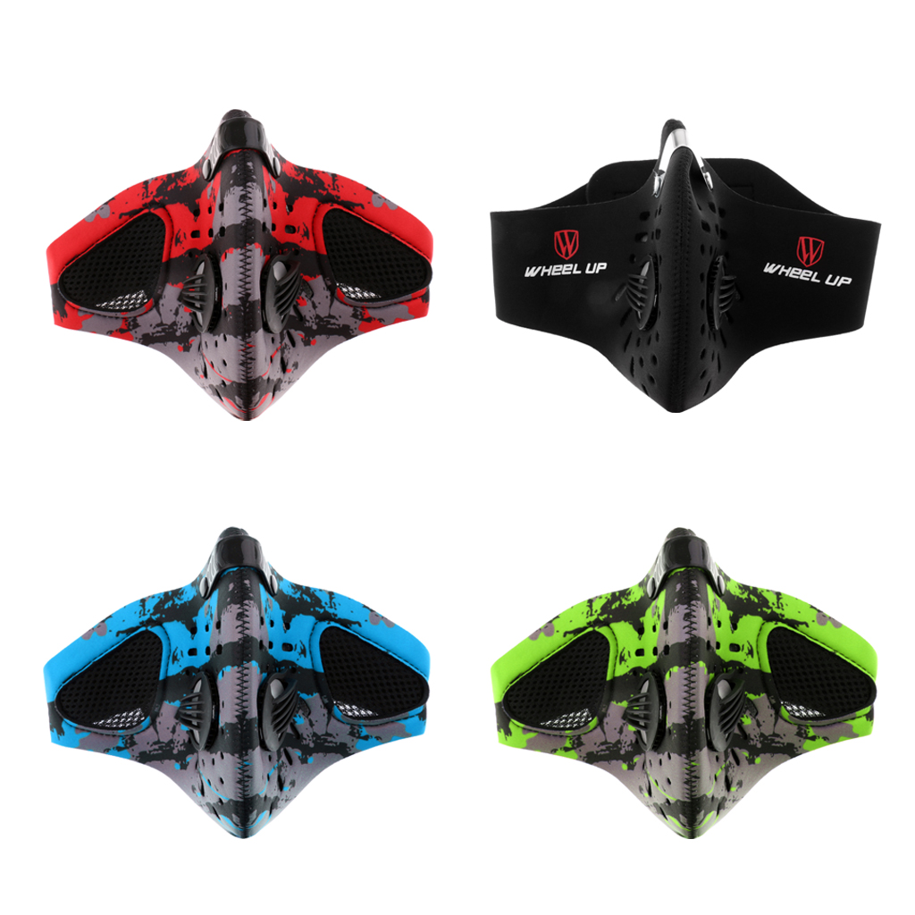 Winter Sports Motorcycle Cycling Skiing Hiking Anti-Pollution Half Face Dust Filter Cycling Mask With Filter