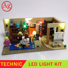 Big Bang Theory Compatible Legoed 21302 16024 Led Light Kit Building Block Bricks DIY Toys (Not Include The Blocks Set)(China)