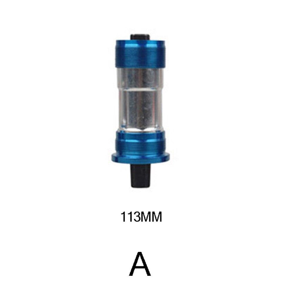 Велосипедный центральный подшипник оси квадратное отверстие центральная ось Бесплатный винт стиль фиксированный Cog горный герметичный Нижний Кронштейн практичный - Цвет: A