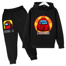 2021 Spring New Game Hoodie Suit Cotton Kids Hoodie and Pant Two-piece Children Clothing Set 4-14 Years Girl Boys Clothes Style