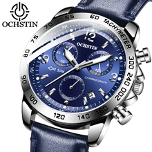 new Men Sports Watches Waterproof OCHSTIN Luxury Brand Watches Quartz Men Military Wrist Watch Clock Male Relogio Masculino 2019 ochstin casual nylon watch men waterproof quartz watch male clock calender canvas nylon wrist watch men relogio masculino